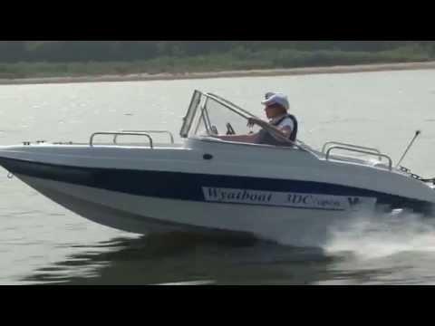 Wyatboat 3DC Стеклопластиковый катер