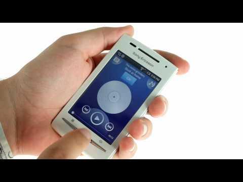 Sony Ericsson XPERIA X8 video demo