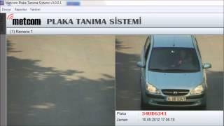 Metcom Plaka Tanıma Sistemleri Video