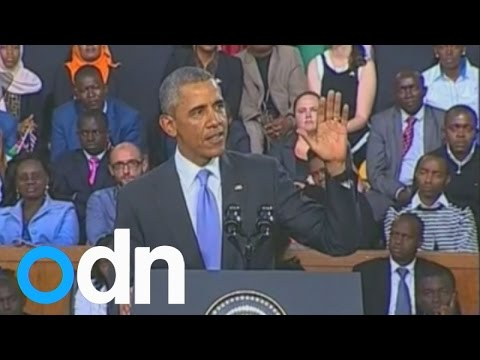 Obama: I'm proud to be the first Kenyan-American president