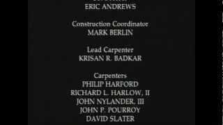 """Beverly Hills Bordello"" credits"