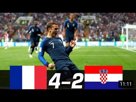 PHÁP vs CROATIA 4-2. Chung kết World Cup 2018- All Goals & Highlights - 15/07/2018- HD