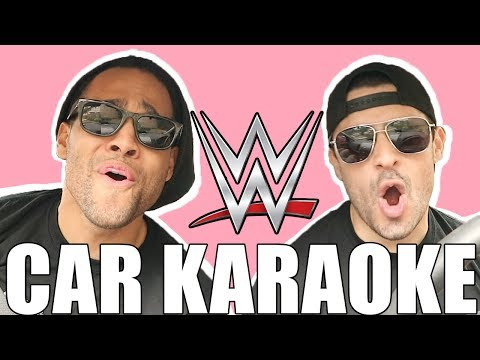 WWE THEME SONG CAR KARAOKE