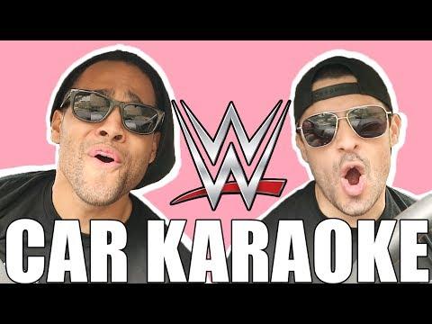 WWE THEME SONG CAR KARAOKE
