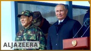 🇷🇺 Putin attends Russia's Vostok 2018 war games   Al Jazeera English