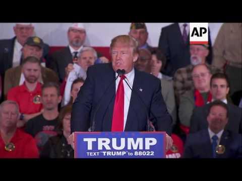 Trump: 'we will load up Guantanamo Bay'