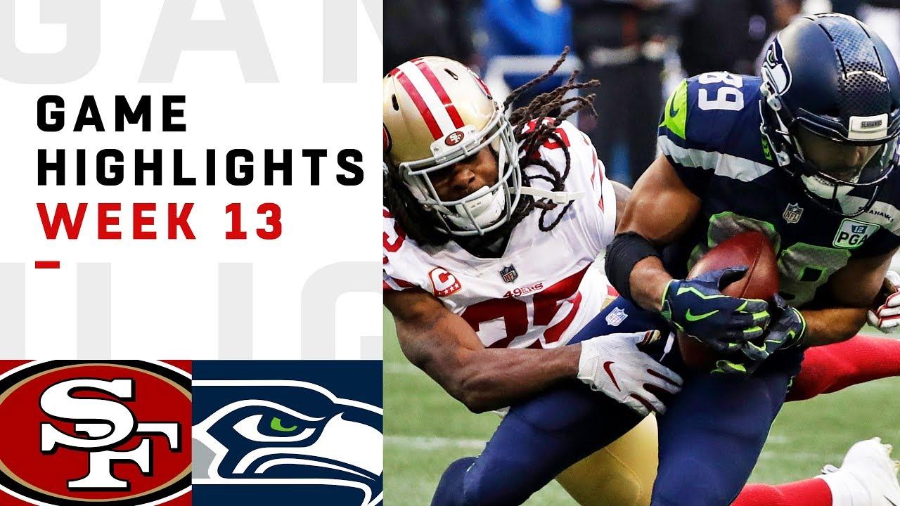 49ers Vs Seahawks Week 13 Highlights Nfl 2018