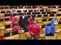 DRAMA - EFF vs Karima Brown In Parliament