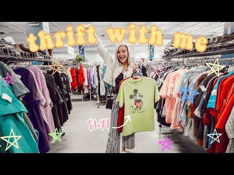 THRIFT SHOP WITH ME!! Thrift Shopping Vlog!〡Megan O'Rourke