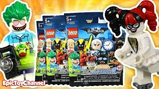LEGO BATMAN MOVIE Blind Bag Surprise Toys Series 2 with New Harley Quinn and Joker Mini Figures
