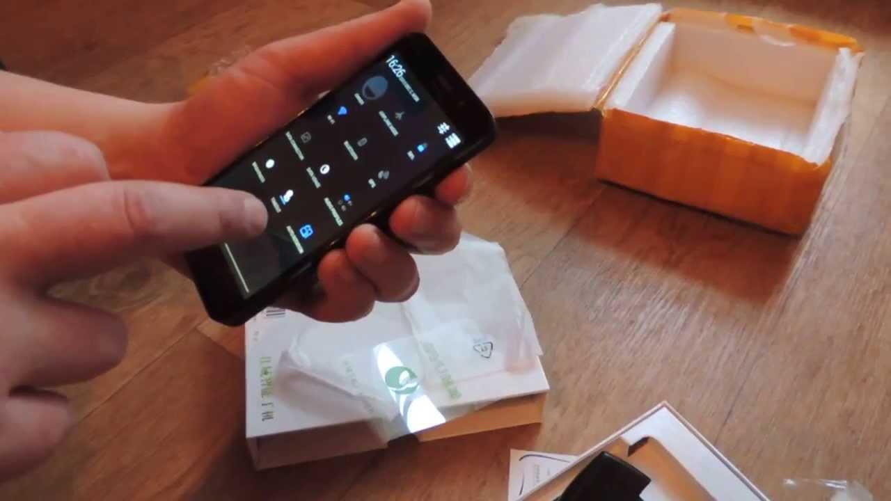 видео получили распаковал телефон - 11
