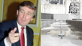 The secret park inside Trump Tower is 'SAD!' | New York Post