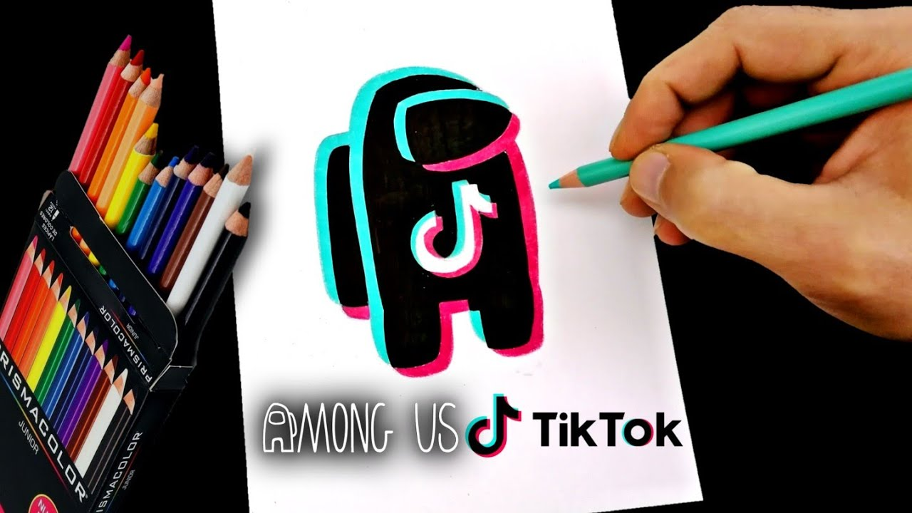 Como Dibujar Among Us Tik Tok Impostor How To Draw Among Us Tik Tok Imposter Cusart Youtube