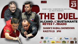 Reyes-Alcano vs Biado-Bustamante | The Duel | Shark's 10 Ball Showdown