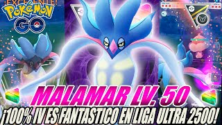Malamar Xl Nivel 50 Es Fantastico En Liga Ultra Remix 2500 Go Battle League Pokémon Go Pvp