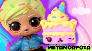 Metamorfoza LOL Surprise  Num Noms MakeUp Surprise  Candy laleczka ✨ DIY