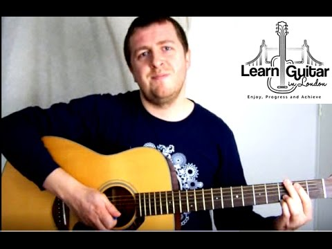 Guitar Lesson - Five Colours In Her Hair - McFly - Intro