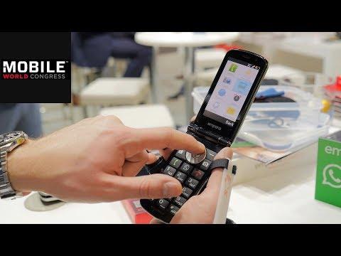 Emporia-Smartphones mit WhatsApp-Button: Senioren-Handy im Hands on