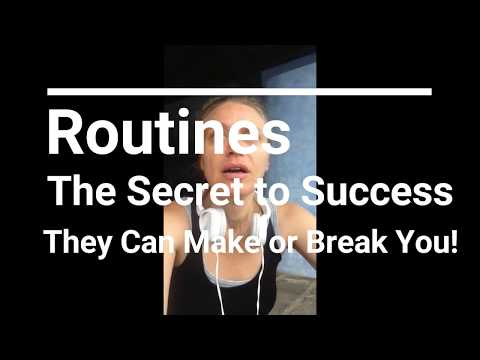 The Power of Routines and Habits for Successful Kids and Successful People |