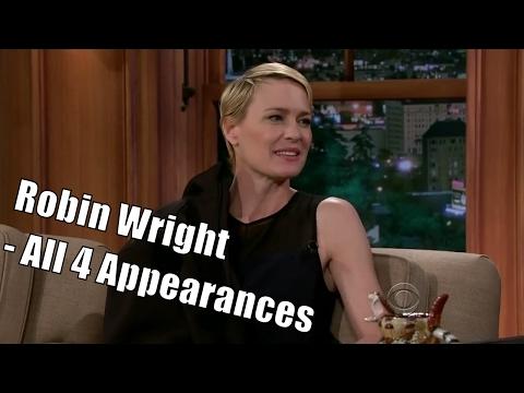 "Robin Wright Aka Claire Underwood ""Speaks Swedish"" - 4/4 Appearances In Order [HD]"
