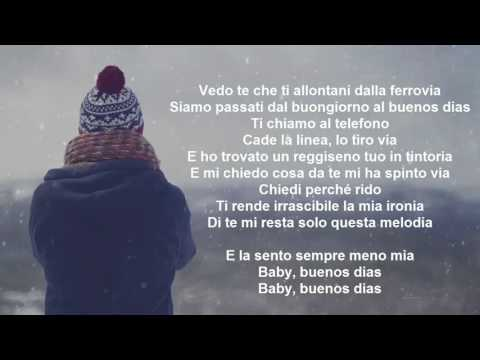 Fred De Palma - Buenos Dias -LYRICS-TESTO-