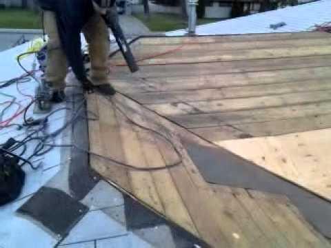 Roof Valley Leak Repair   YouTube