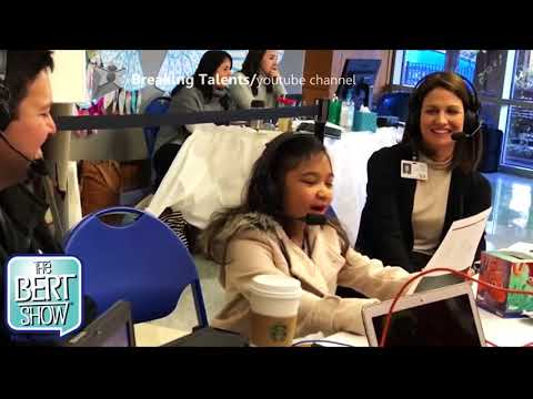 Angelica Hale Sings The Telephone Number Impromptu during a Benefit Radio-thon America's Got Ta ...