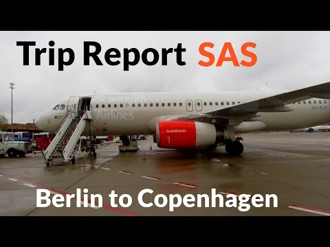 TRIP REPORT | Scandinavian Airlines A320 | Berlin Tegel to Copenhagen | Economy Class