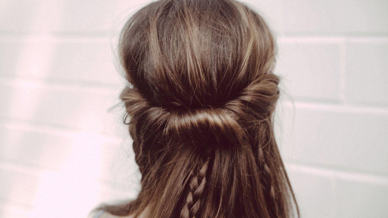 12mal12 Tutorial Frisur Hippie Mädchen