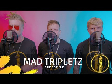 Mad Tripletz | Freestyle | Live In Studio Performance | American Beatbox