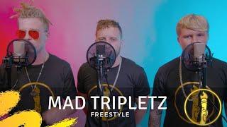 Mad Tripletz   Freestyle   Live In Studio Performance   American Beatbox