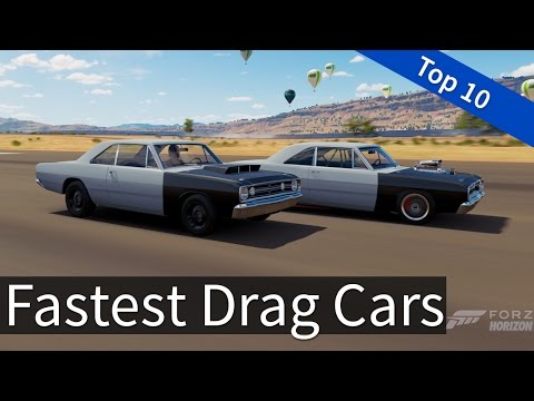 Forza Horizon 3: Top 10 - Fastest Drag Cars