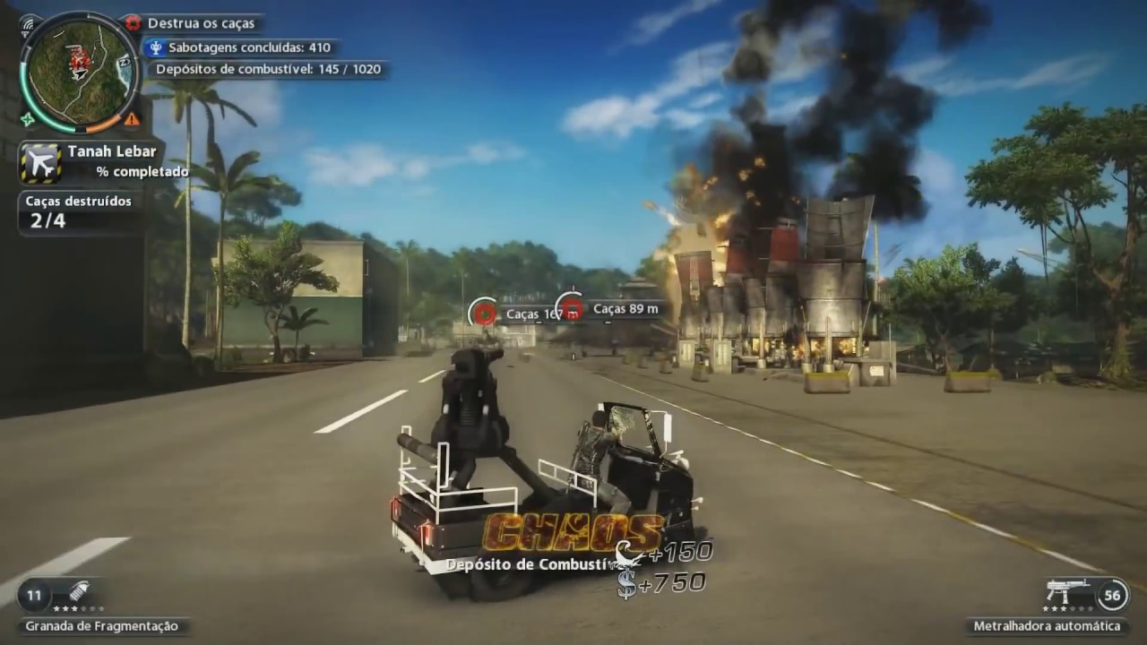 Just Cause 2 PC Gameplay Ultra...