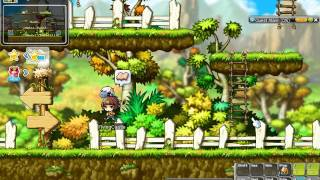 MapleStory Boy we are still iniside Evan tutorial after 42mins