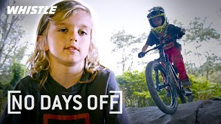 6-Year-Old FEARLESS Mountain Biking Prodigy