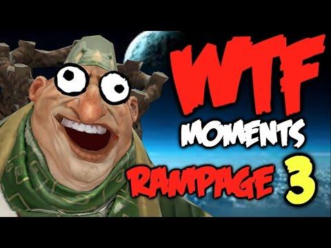 Dota 2 WTF Rampage Compilation 3