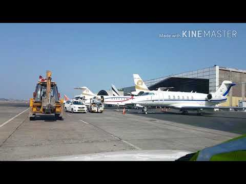 General Aviation Aircraft's parking at Mumbai International Airport....