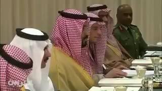"""بالفيديو .. ماذا قال """"محمد بن سلمان"""" لوزير الدفاع الأمريكي ماتيس ؟"""