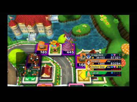 Fortune Street: forcing the CPU players to go Bankrupt in Mario Circuit