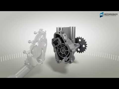 Función de una bomba de aceite variable (animación 3D) - Motorservice Group