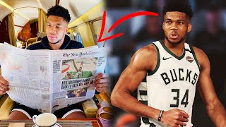 Giannis Antetokounmpo Continues to Play Mind Games With the Milwaukee Bucks...