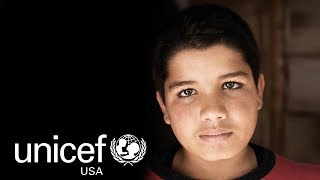 Ali, 13, a Syrian child refugee in Lebanon, Yearns for School and a Future