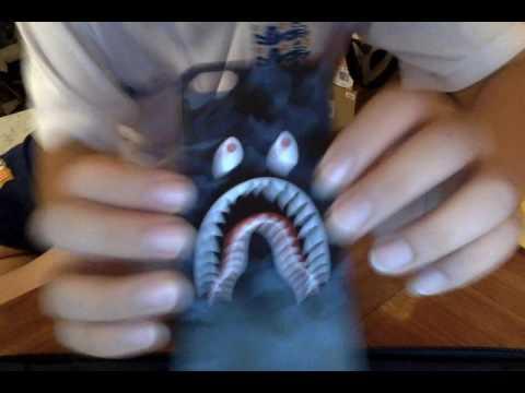 BAPE IPHONE CASE UNBOXING!!!!!!!!!!!!!! BAPE SHARK!!!!!