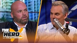 49ers d-line is as good as it gets, talks Brady's future, Burrow - Andrew Whitworth | NFL | THE HERD