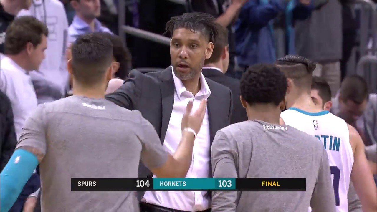 Tim Duncan gets first win as head coach with Gregg Popovich out