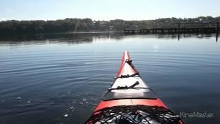 "Kayak / Prijon Seayak på Viborg Søerne ""Denmark"""
