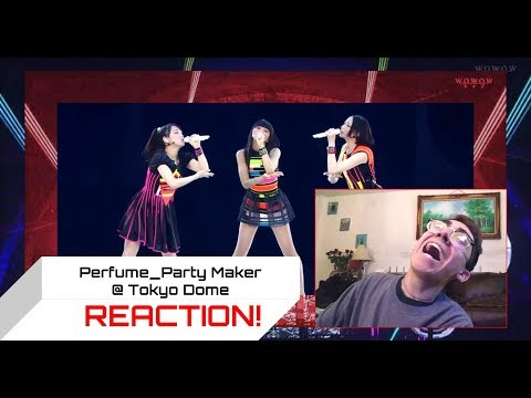 Perfume_ Party Maker @ Tokyo Dome REACTION! | DANNY REACTS