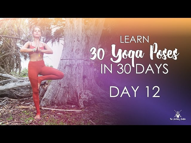 Day 12 - Tree Pose - 30 Pose Journey