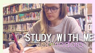 STUDY WITH ME.. in the LIBRARY!  (POMODORO SESSION) (25 MIN) #2 thumbnail