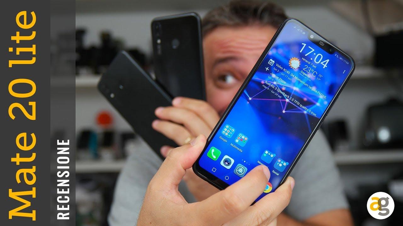 Recensione Huawei Mate 20 Lite Youtube